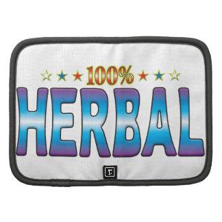 Herbal Star Tag v2 Organizers