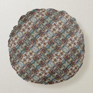 Herbal Tea 0301 Round Pillow