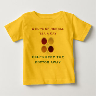 herbal tea infant shirt