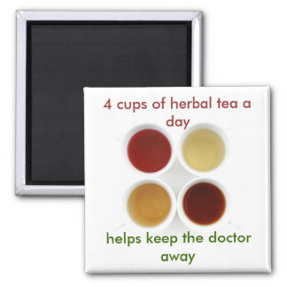 herbal tea magnet