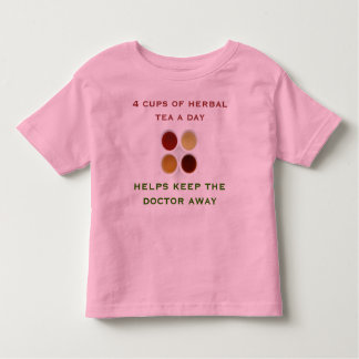 herbal tea toddler shirt