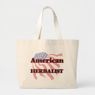 Herbalist americano bolsa tela grande