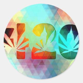 Herbalist Classic Round Sticker