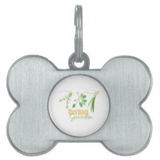 Herban Garden Pet ID Tag