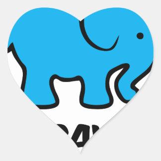 Herbavore Heart Sticker