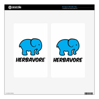 Herbavore Kindle Fire Decal