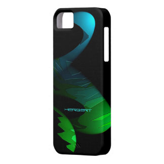 Herbert Black and Green iPhone 5 case