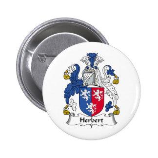 Herbert Family Crest Pin