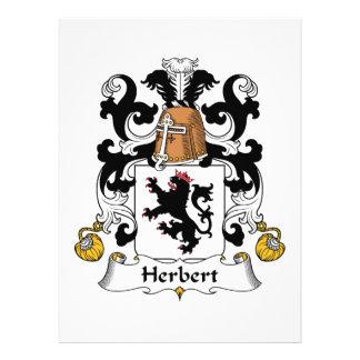 Herbert Family Crest Invites