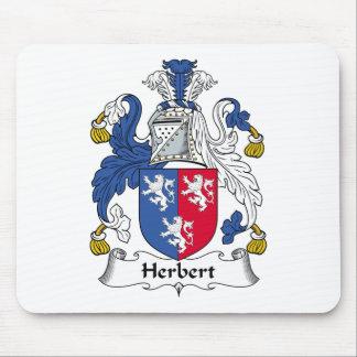 Herbert Family Crest Mouse Mats