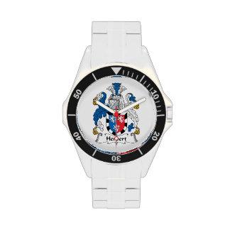 Herbert Family Crest Wrist Watch