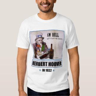 Herbert Hoover 1932 Campaign Men's Light T-shirt
