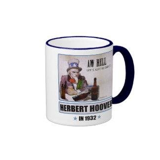Herbert Hoover 1932 Campaign Mug