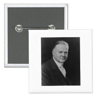 Herbert Hoover 31 2 Inch Square Button