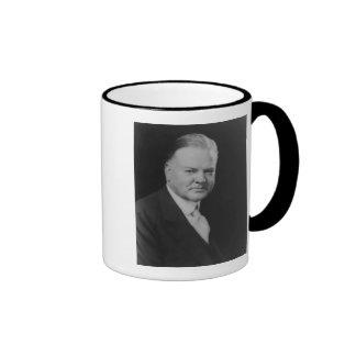 Herbert Hoover 31 Ringer Mug