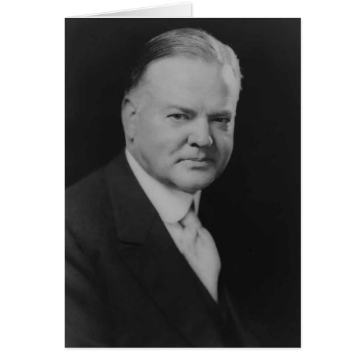 Herbert Hoover 31 Tarjeta De Felicitación