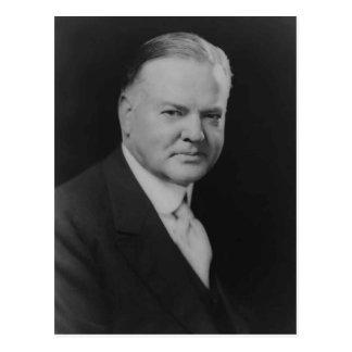 Herbert Hoover 31st President Postcard
