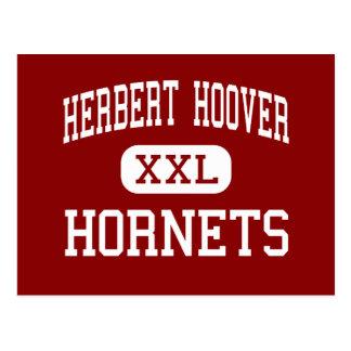 Herbert Hoover - avispones - centro - Sioux City Postales