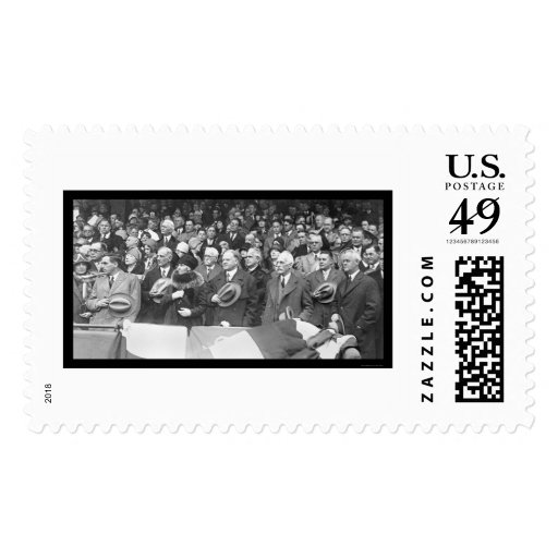 Herbert Hoover Baseball 1929 Stamp