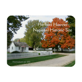 Herbert Hoover Birthplace Magnet Magnets