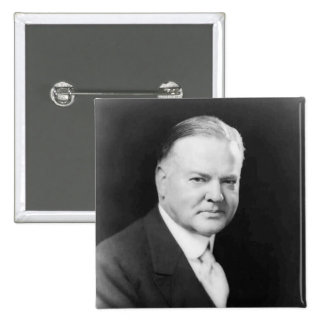 Herbert Hoover 2 Inch Square Button