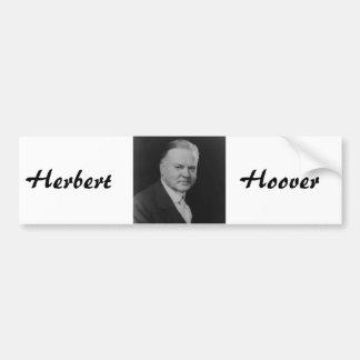 Herbert Hoover Etiqueta De Parachoque