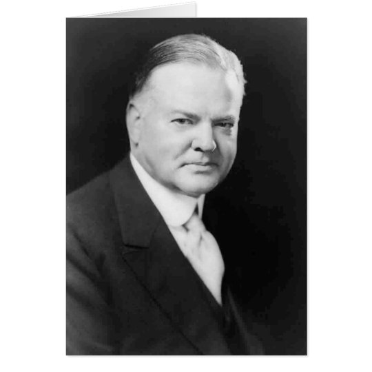 Herbert Hoover Card