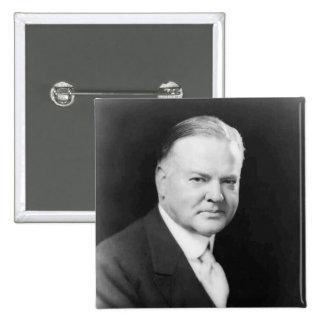 Herbert Hoover Pinback Button