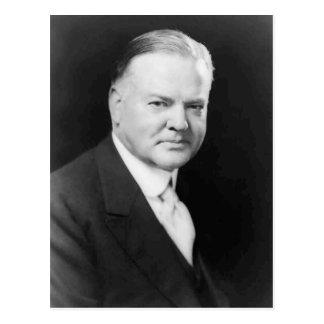Herbert Hoover Postcard