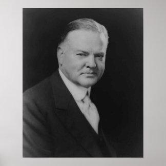 Herbert Hoover Poster