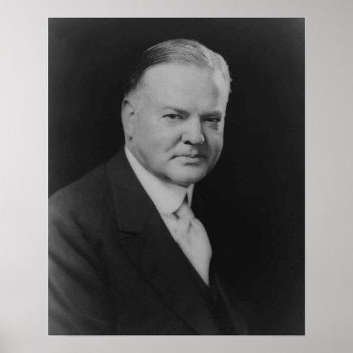 Herbert Hoover Print