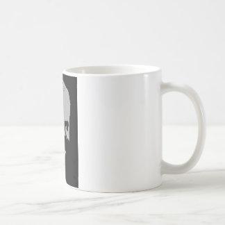 Herbert Hoover silhouette Coffee Mug