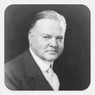 Herbert Hoover Square Sticker
