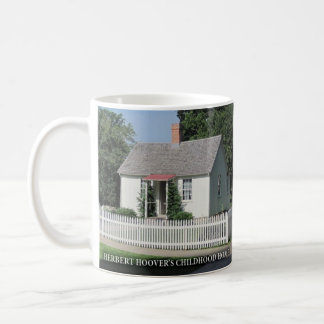 Herbert Hoovers Childhood Home Historical Mug