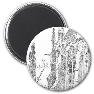 Herbert_Railton 2 Inch Round Magnet