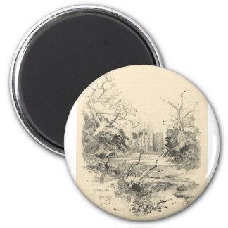 Herbert Railton 2 Inch Round Magnet