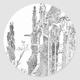 Herbert_Railton Classic Round Sticker
