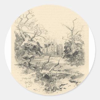 Herbert Railton Classic Round Sticker
