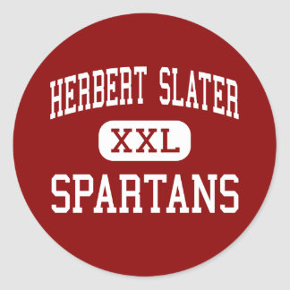 Herbert Slater - Spartans - Middle - Santa Rosa Sticker