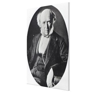 Herbert Spencer Canvas Print