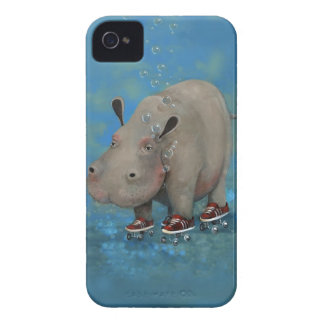 Herbert the Hippo iPhone 4 Cover