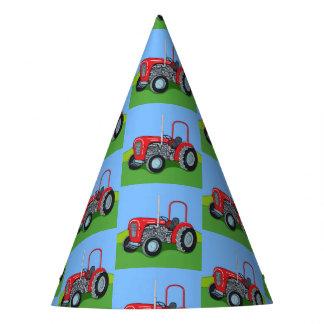 Herbert the Tractor Party Hat