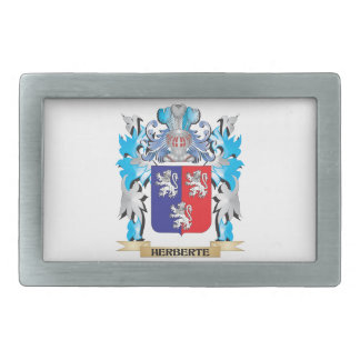 Herberte Coat of Arms - Family Crest Belt Buckles