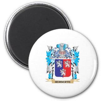 Herberte Coat of Arms - Family Crest Refrigerator Magnet