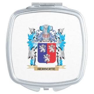 Herberte Coat of Arms - Family Crest Compact Mirror