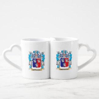 Herberte Coat of Arms - Family Crest Couple Mugs