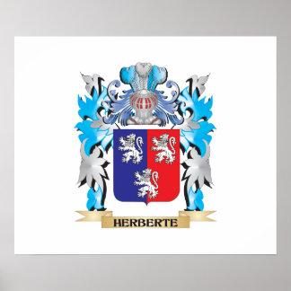 Herberte Coat of Arms - Family Crest Print