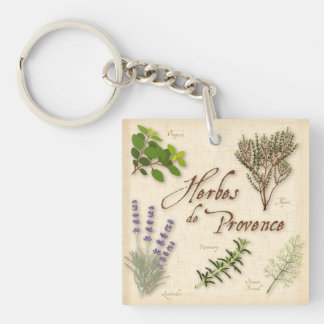 Herbes de Provence, Recipe, Lavender, Thyme, Keychain