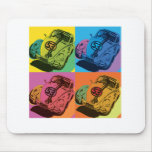 Herbie el insecto del amor mouse pads