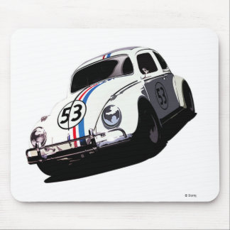 Herbie el insecto Disney del amor Mouse Pads